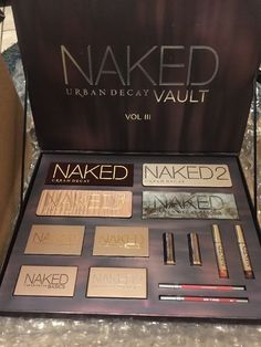 URBAN DECAY NAKED VAULT 3 2017 MAKE UP GIFT SET PALETTE LIMITED EDITION SOLD OUT