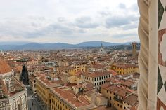 A view from the Giotto Bell Tower