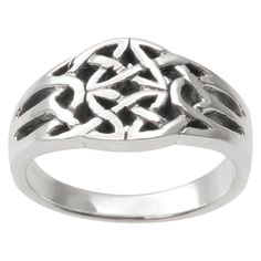 Women's Tressa Collection Ring in Sterling Silver - Silver (