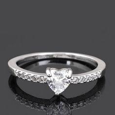 Nice finger ring, heart.