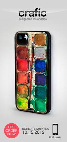 Watercolor Set iPhone 5 Case