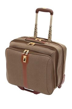 great for taking my laptop on the plane and having extra room in the same bag - London Fog Luggage