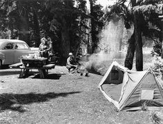 Camping. by The Forest History Society, via Flickr