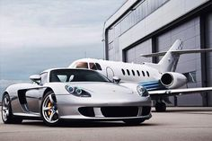 The life of the rich, fast cars and private jets. :)