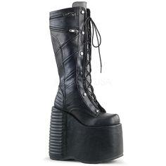 7de2d10346a Demonia SLAY 320 Blk Vegan Leather. www.Stripper-Shoes.com  gt