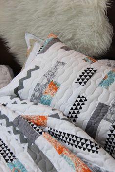 Patch It To Me Quilt + Sham | Quilts ideas | Pinterest : patch it to me quilt - Adamdwight.com