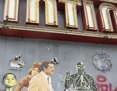 Street art adorns the facades of Berlin's Kino Intimes