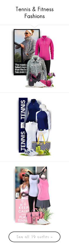 """Tennis & Fitness Fashions"" by nicolestennisboutique ❤ liked on Polyvore featuring Jofit, Sydney Love, NIKE, AME, Asics, lorisgolfshoppe, nicolestennisboutique, Evian, Babolat and Stephenson"