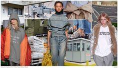 #FashionSnoops FW 17/18 trends on #WeConnectFashion. Women's denim theme: CODE - the mood.