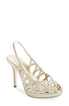 Nina 'Fatina' Slingback Platform Sandal (Women) available at #Nordstrom