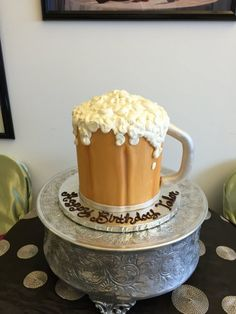 Pint of Beer Cake from Dulce