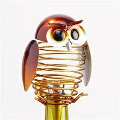Springy Owl Wine Stopper