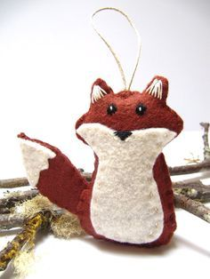felted christmas ornaments pinterest - Google Search