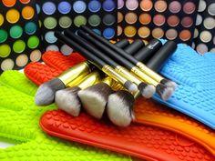 Fancy - Gold Makeup Kabuki Brush Set Royal Care Cosmetics