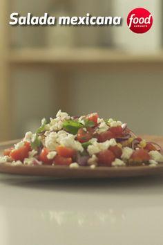 Low Carb Recipes, Diet Recipes, Cooking Recipes, Healthy Recipes, Chicken Salad Recipes, Salmon Recipes, Mexican Salads, Complete Recipe, Pasta