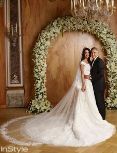 It's Here: Amal Alamuddin and George Clooney's Official Wedding Album via @WhoWhatWear