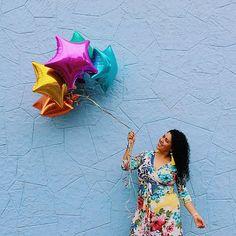 🎂✨La mejor edad es cuando empiezas a cumplir sueños y no años 😍 Feliz cumpleaños a mí 🎉🎁🎈 Maxi dress de @beapplecurvy  #yocurvilinea #arhemolina #curvyblog #plussizefashion #mequierocomosoy