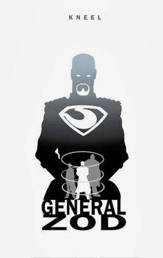 Kneel - General Zod by Steve Garcia