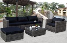 rattan patio furniture - Home Decor