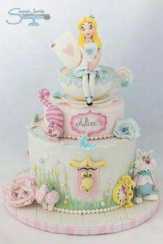 Alice in pastels
