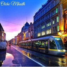 Good Night From Ireland  The two LUAS lines in Dublin might not meet up but they can look good such as in this picture by @laurenbrennan24