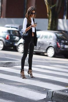 #blackandwhite #rocknrollstyle #fashion #style #women