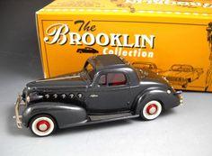 Brooklin Models BRK84 1934 LA SALLE 350 COUPE Made in England With Original Box #Brooklin #HUPMOBILEMODEL115RSkylarkTouringSedan