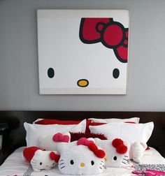 Contemporary Hello Kitty decor