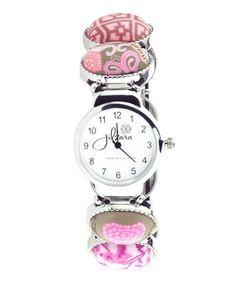 Look at this #zulilyfind! Pink Oval Watch #zulilyfinds  $22.99 from 50.00
