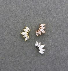 CZ crown cartilage earring tiara tragus earring crown seashell Source by Cartilage Jewelry, Conch Earring, Tragus Piercings, Ear Jewelry, Jewlery, Labret, Shell Earrings, Stud Earrings, Safety Pin Earrings