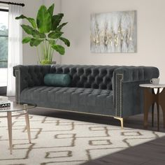50 Comfortable Sofa Ideas To Increase Living Room Design - The sofa is one of the most vital pieces of furniture at home. Although it is the first thing that your visitors will ever see, and one of the most im. Sofa Upholstery, Upholstered Sofa, Fabric Sofa, Wingback Chair, Living Room Sofa, Living Room Decor, Dining Sofa, Sofa Design, Interior Design