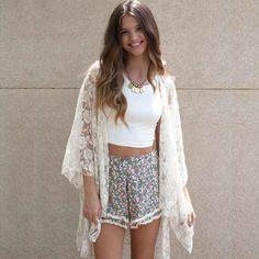 Fashion Women Ladies Blouse Tops Loose Chiffon Cover Up Sunscreen Tank Crop Tops
