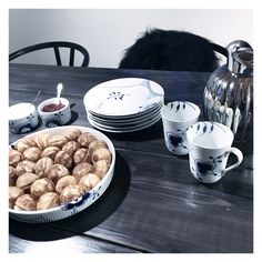 Copenhagen Design, Royal Copenhagen, Table Settings, Place Settings, Hygge, Sweet Home, China, Table Decorations, Dining