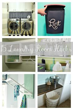 15 Laundry Room Hacks - Craft-O-Maniac