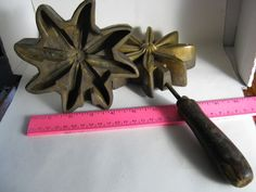 5 1 2 a f t co n y art flower tool millinery silk flower bronze antique a f tool co ny millinery silk flower bronze mold large full flower ebay mightylinksfo Gallery
