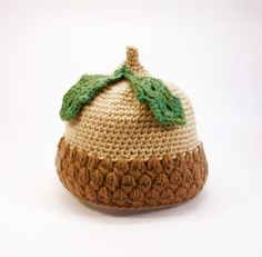 Acorn Baby Hat Handmade Crochet Baby Hat by jarg0n on Etsy | Craft Juice