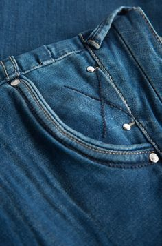 ORSAY JEANS | Straight jeans with details #mywork #fashiondesigner #denim #closeup