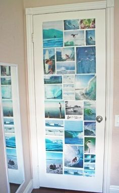 Teen Girl Bedrooms makeover - A splendid and enjoyable array of teen room decor ideas and tricks. For another decor information simply check out the link at once Tumblr Bedroom, Tumblr Rooms, Surf Room, Teen Girl Bedrooms, Teen Bedroom Door, Teenage Beach Bedroom, Hippie Bedrooms, Surfer Girl Bedrooms, Surf Theme Bedrooms