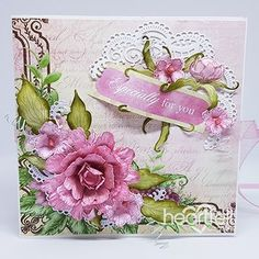 Peonies for You Handmade Papercraft Project - Elegant lace like die cut accents paired up with the Sweet Peony Collection from Heartfelt Creations creates a super feminine and elegant handmade greeting card! Save now! #HeartfeltCreations #paperflowers #peony #feminine #handmadecard #elegantgreetingcard #cardmaking #scrapbooking #dimensionalflowers #crafts #papercrafts #diycrafts #diecuts #diyflowers #craftsupplies #rubberstamps #diecutting #stamping #flowershaping #friendship