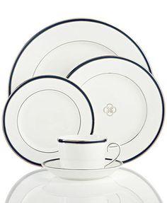 Royal Doulton Dinnerware, Signature Blue 5-Piece Place Setting