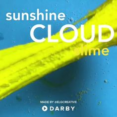 Easy Cloud Slime Recipe Videos #darbysmart #kids #slime #videos