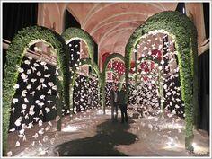 "Internationales florales Festival: ""Beyond imagination"" Lier Indian Wedding Decorations, Reception Decorations, Wedding Themes, Event Decor, Flower Decorations, Wedding Designs, Wedding Events, Wedding Entrance, Wedding Stage"