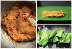 Resep Otak-Otak Ikan Bumbu Rempah a la JTT Indonesian Food, Food And Drink, Fish, Chicken, Meat, Chopper, Singapore, Recipes, Indonesian Cuisine