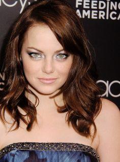 Emma Stone, loving that eyeshadow!!