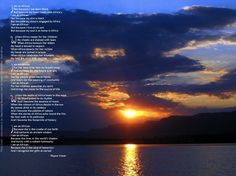 I Am an African. Poem by Wayne Visser. This wallpaper was created by South Africa Online. The image is a sunset over the Magaliesberg Mountains, the world's oldest range and neighbour to the Cradle of Humankind. Copyright 2005.