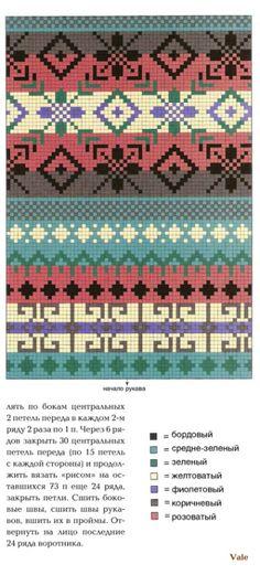 El hacer punto (Jacquard)   Artículos en la categoría de tejer (Jacquard)   Blog NatalyL: LiveInternet - Servicio ruso en línea Diarios
