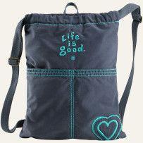 Essential Cinch Sack  #LifeisgoodWishList