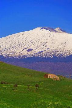 Mt. Etna. Sicily. Italy