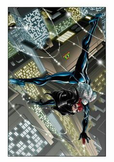 Silk by NickLaw-Artes on DeviantArt Silk Spiderman, Spiderman Black Cat, Marvel Girls, Marvel Art, Marvel Comics, Marvel Women, Marvel Comic Character, Comic Book Characters, Character Art