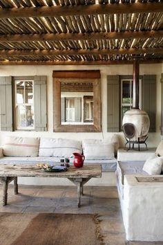 Pergola In Front Of House Refferal: 9633013238 Pergola Attached To House, Pergola With Roof, Patio Roof, Outdoor Spaces, Outdoor Living, Outdoor Decor, Parrilla Exterior, Ideas Terraza, African House
